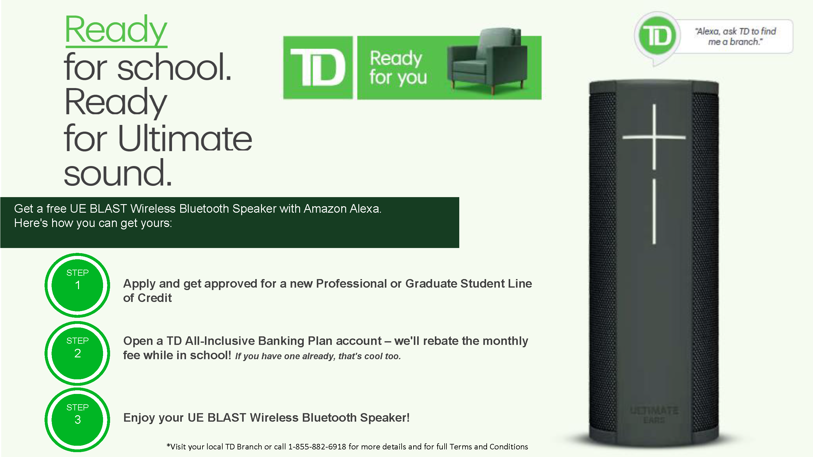 2018 TD Professional SLOC Offer